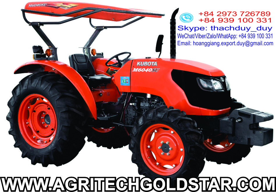 Kubota Tractor M-6040 high quality good price common used