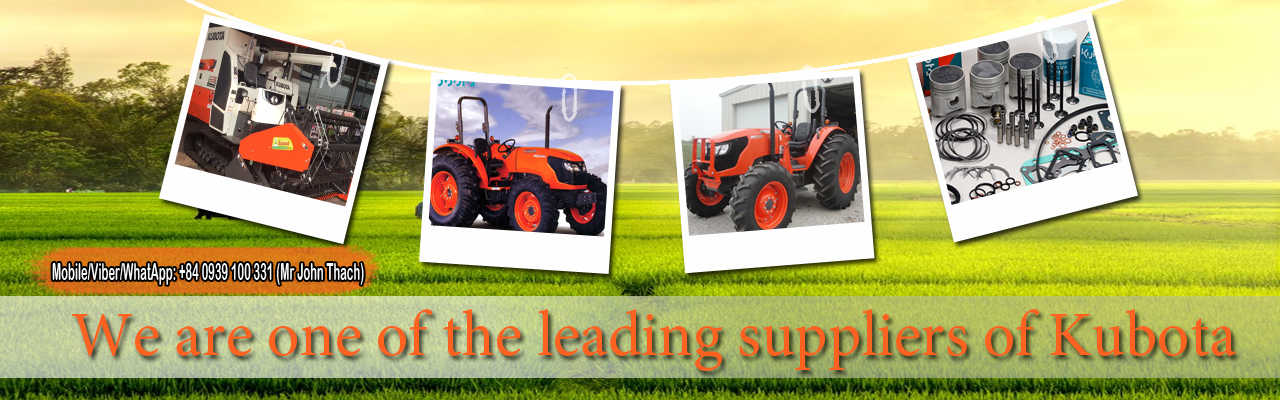 We are one of the leading suppliers of Kubota